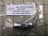 ORF RSTR FLOW 5SLM N2 1/4VCR-M/M 30PSIG